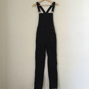 Brandy Melville Black Uma Overall Pants